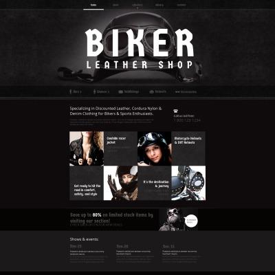 Biker Club Templates | TemplateMonster
