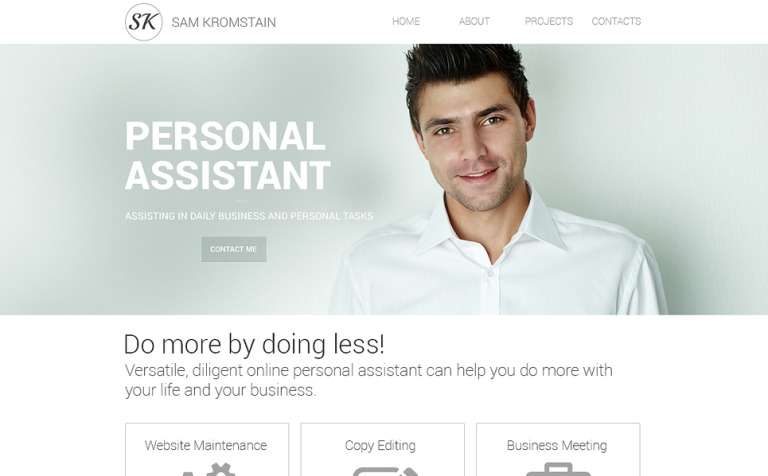 Consulting Responsive Website Template 48321