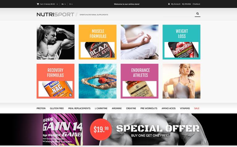 7 Premium eCommerce Website Templates