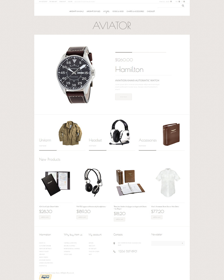 Fashion Store Responsive Magento Theme New Screenshots BIG