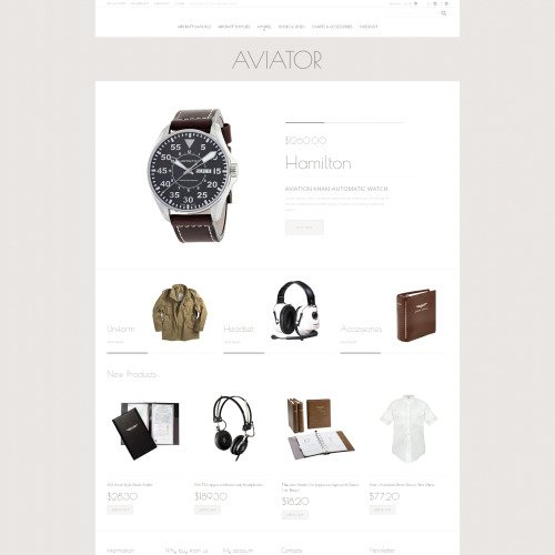 Aviator - Magento Template based on Bootstrap