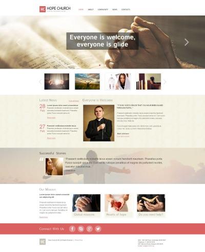 Christian Moto CMS HTML šablona