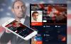 Luxusní Moto CMS HTML šablona na téma Politický kandidát New Screenshots BIG