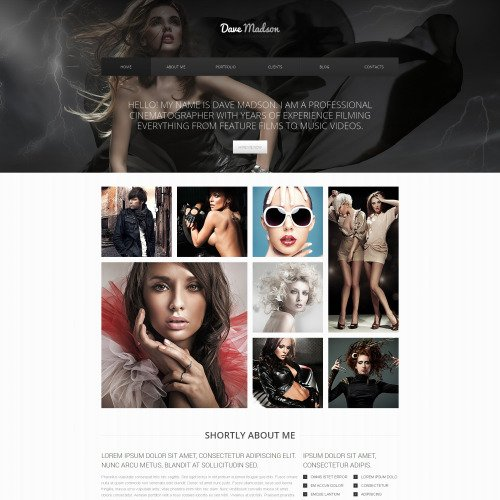 Dave Madson - Responsive Drupal Template