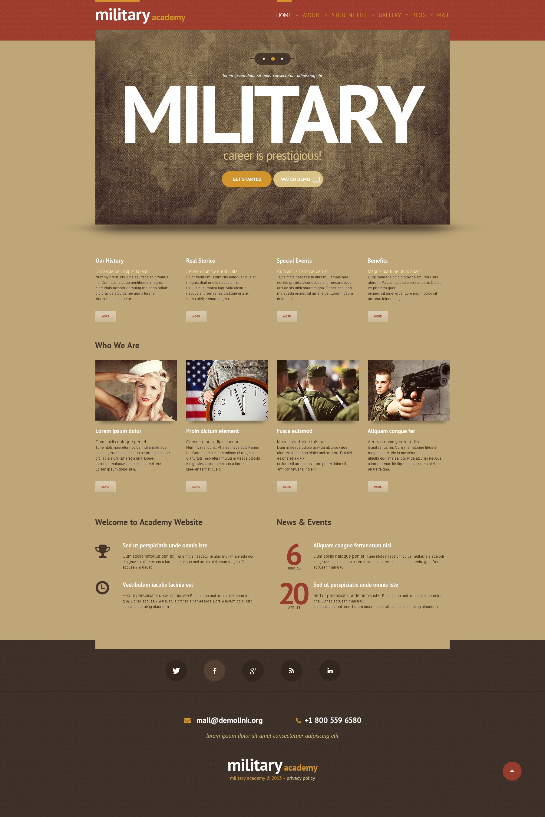 Responsivt WordPress-tema #48345