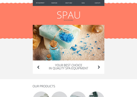Spa Accessories Responsive