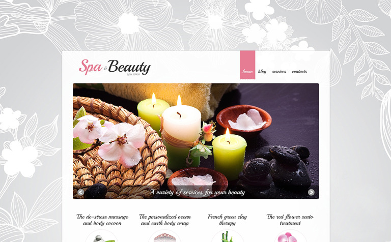 Spa Procedures Joomla Template