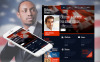 Szablon Moto CMS HTML #48382 na temat: kandydat polityczny New Screenshots BIG