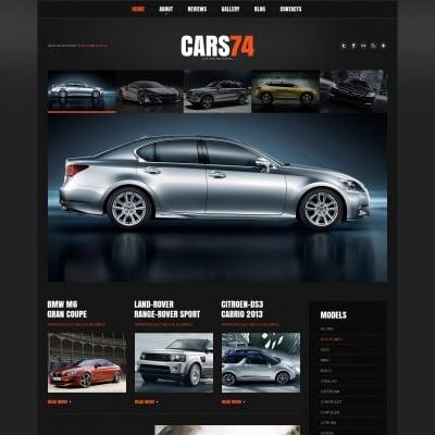 Tema de WordPress #48304 para Sitio de Concesionarios de coches