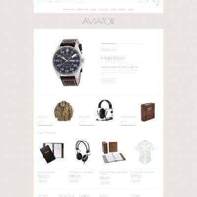 Thème Magento adaptatif  pour boutique de mode