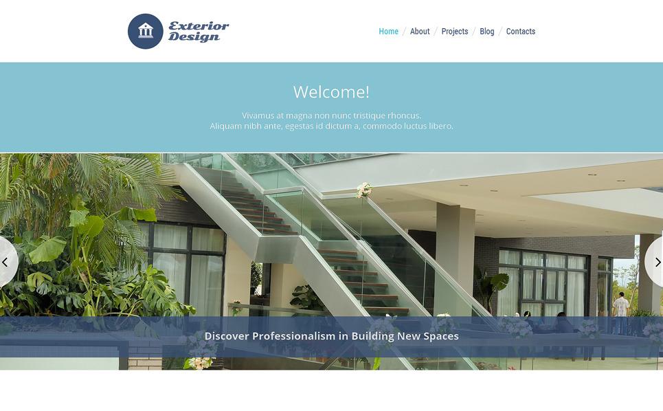 WordPress Theme für Außendesign  New Screenshots BIG