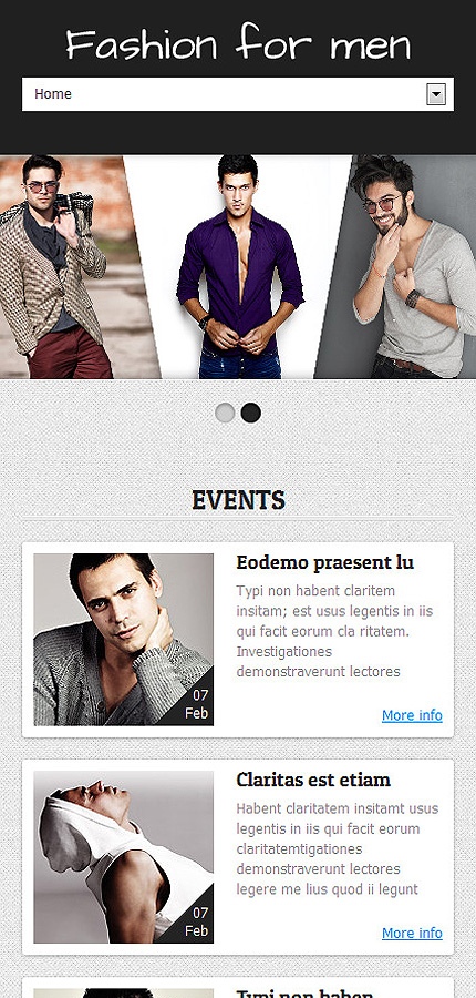 Joomla Theme/Template 48405 Main Page Screenshot