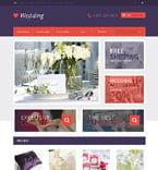 Wedding OpenCart  Template 48407