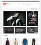 Fashion OpenCart  Template 48410