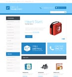 Medical OpenCart  Template 48413