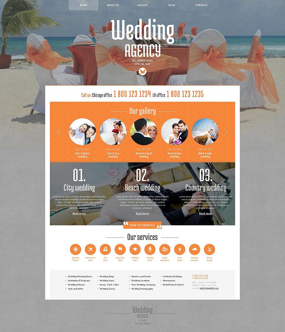 Wedding Planner Responsive WordPress Theme WordPress Theme