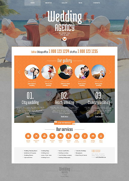 WordPress Theme/Template 48420 Main Page Screenshot