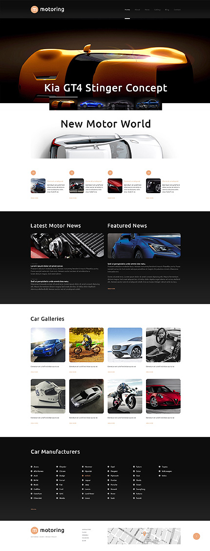 WordPress Theme/Template 48421 Main Page Screenshot
