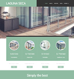 Real Estate WordPress Template 48423