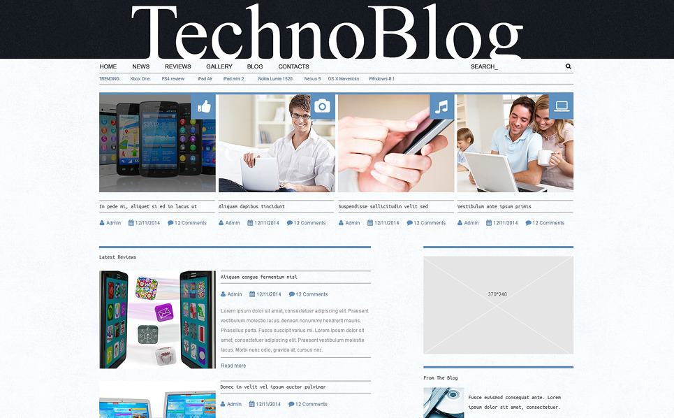 WPML-kész Vélemények WordPress sablon New Screenshots BIG