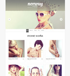 Art & Photography WordPress Template 48425