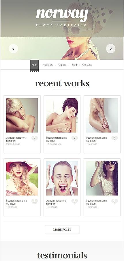 WordPress Theme/Template 48425 Main Page Screenshot