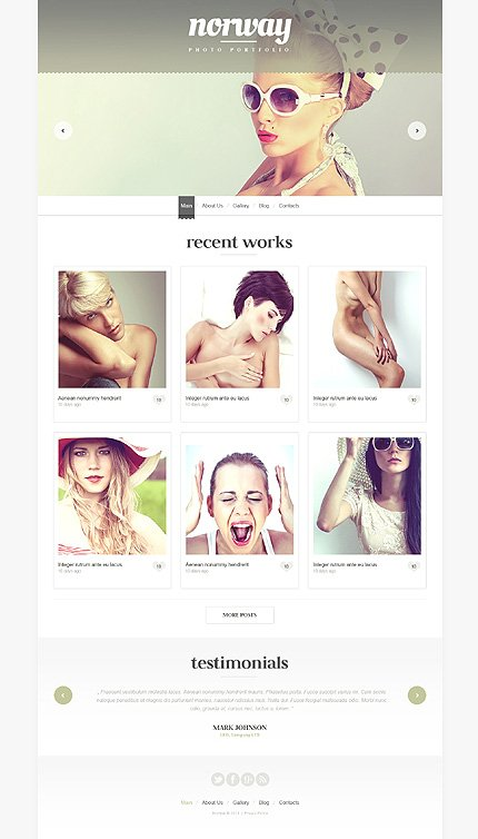 Website Template #48425