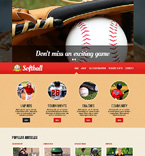 Sport Website  Template 48433