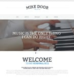 Personal Page Website  Template 48435