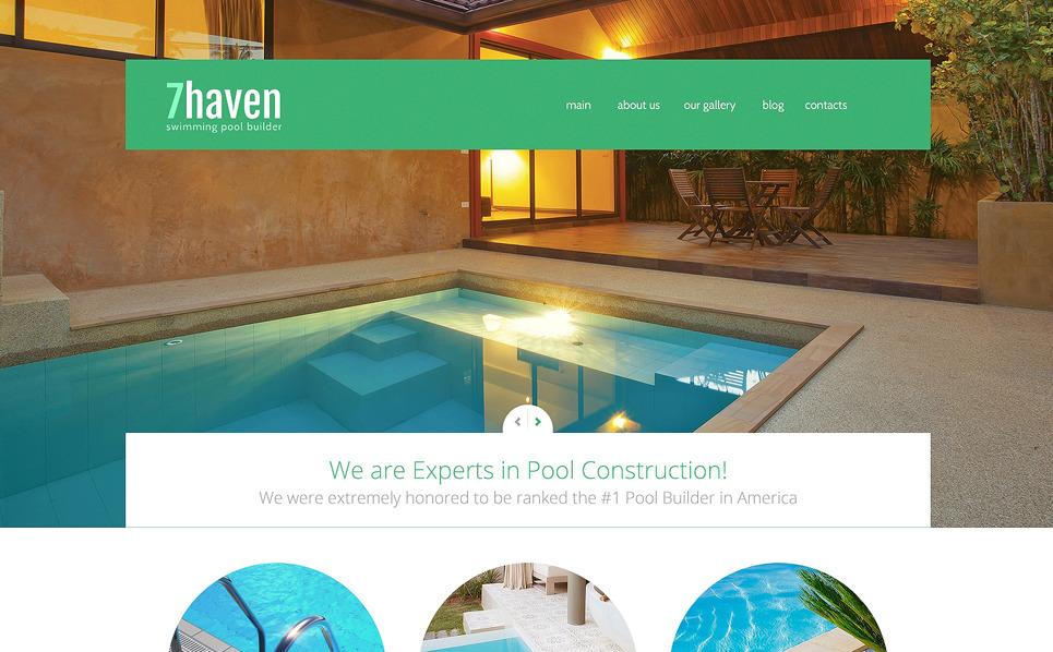 Bootstrap Joomla Template over Zwembad  New Screenshots BIG