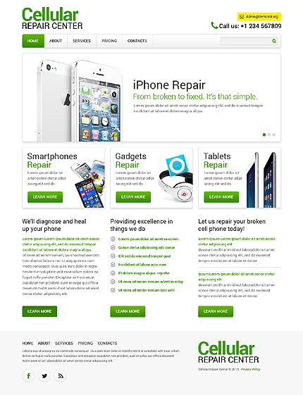 Website Template #48444