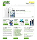 Computers Website  Template 48444