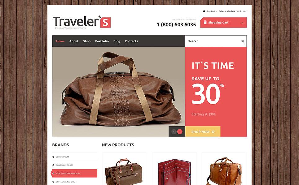 Responzivní WooCommerce motiv na téma Turistický obchod New Screenshots BIG