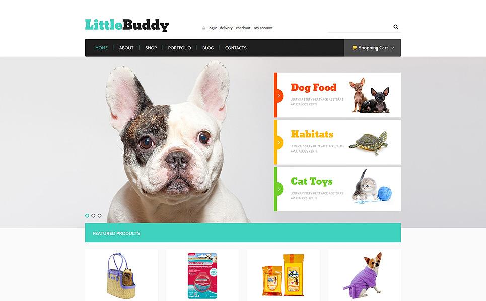Responzivní WooCommerce motiv na téma Obchod pro zvířata New Screenshots BIG