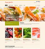 Food & Drink Website  Template 48456