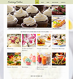 Food & Drink Website  Template 48460