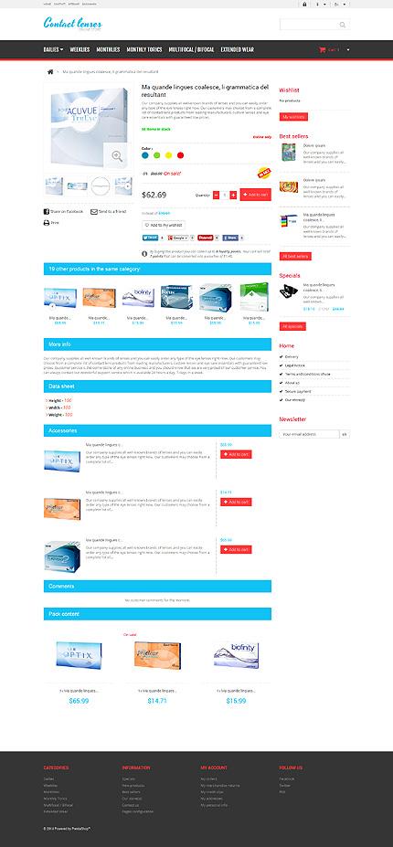 ADOBE Photoshop Template 48465 Home Page Screenshot