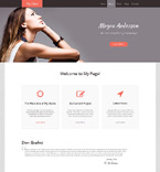 Personal Page WordPress Template 48470