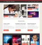 Science WordPress Template 48471