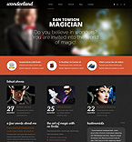 Personal Page Drupal  Template 48489