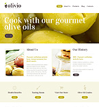 Food & Drink Drupal  Template 48490
