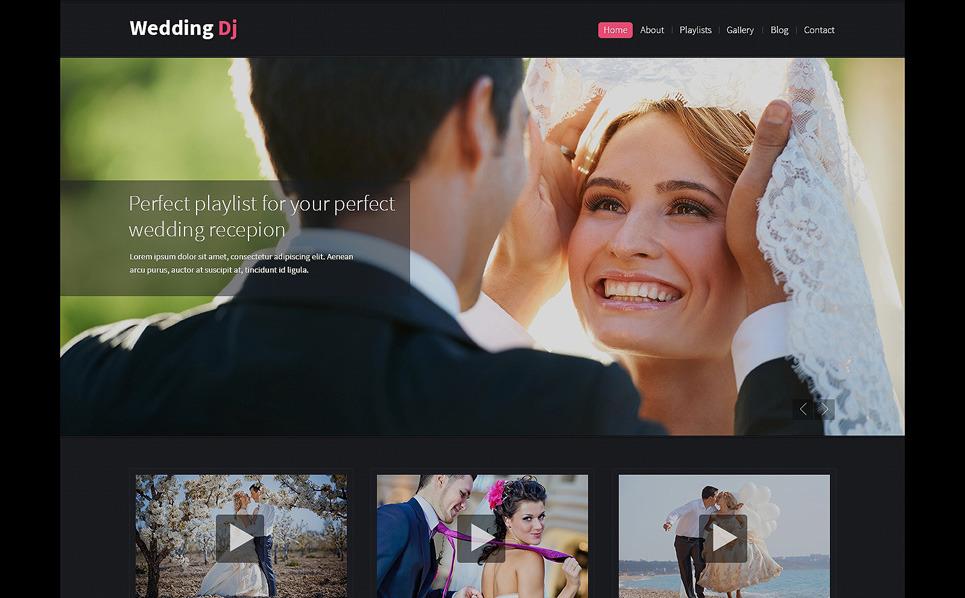 Thème Drupal  pour site d'organisation de mariages New Screenshots BIG