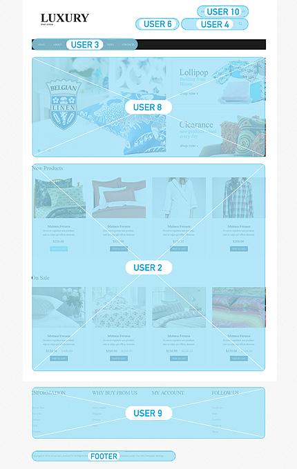 ADOBE Photoshop Template 48492 Home Page Screenshot
