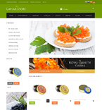 Food & Drink osCommerce  Template 48495