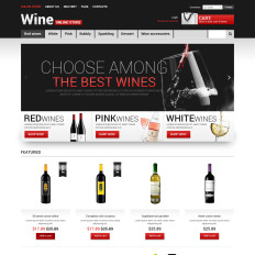 wine virtuemart templates