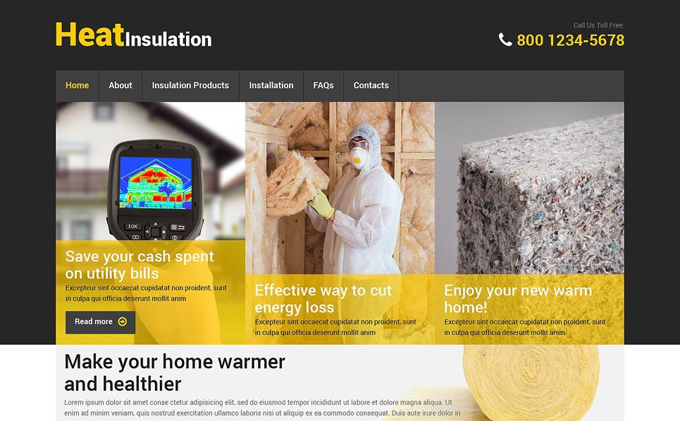 Адаптивний Шаблон сайту на тему домашній ремонт New Screenshots BIG