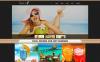 Адаптивный Joomla шаблон №48439 на тему кафе New Screenshots BIG