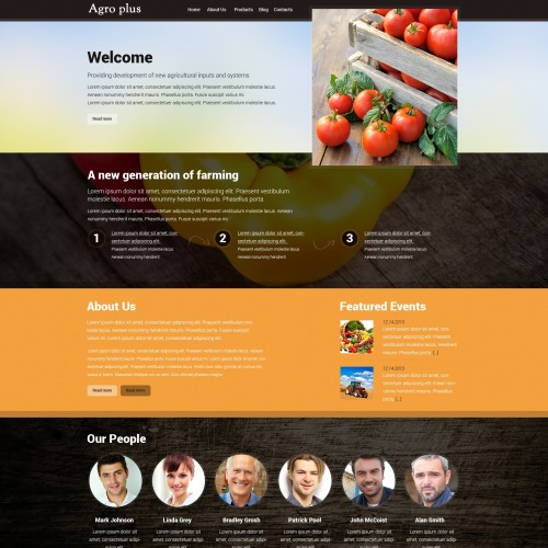 Agroplus - HTML5 Drupal Template