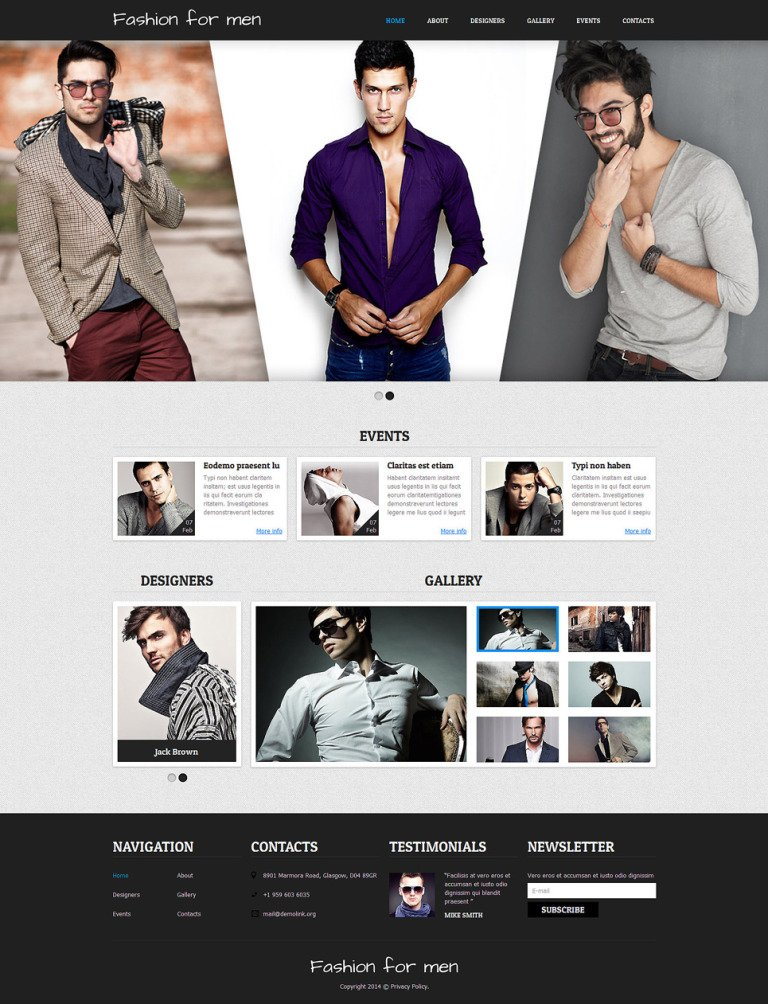 Apparel Responsive Joomla Template New Screenshots BIG