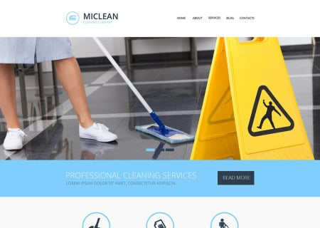 Cleaning Responsive